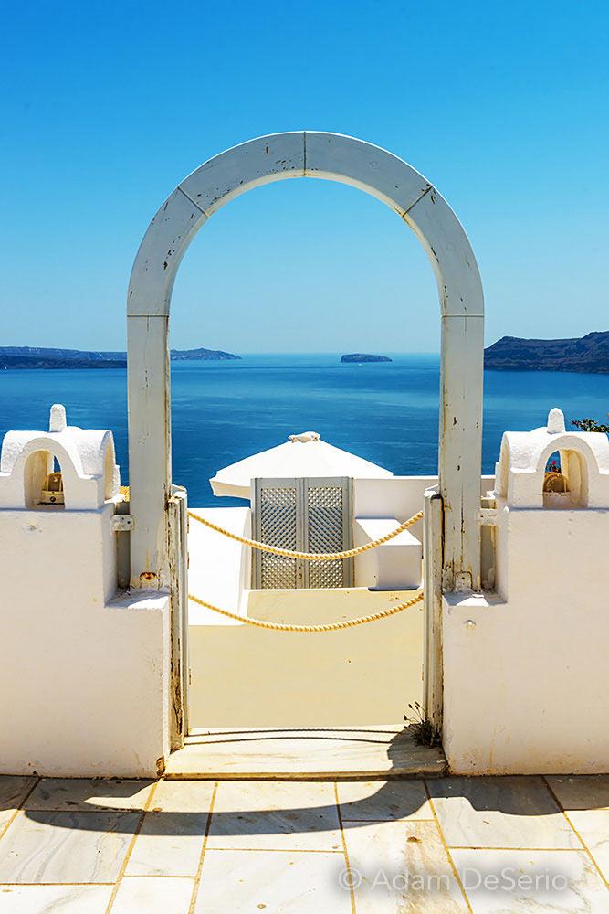 Door To The Sea, Santorini