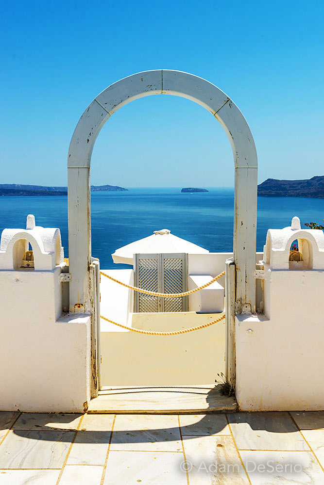 Door To The Sea, Santorini