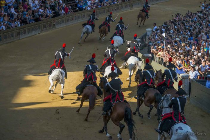 Draw The Swords, Palio, Siena, Italy