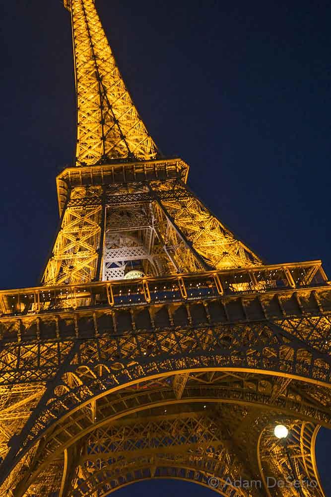 Eiffel Tower Color, Paris