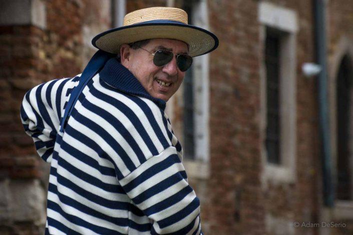 Gondola Man, Venice