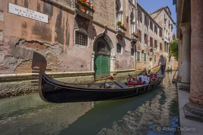 Gondola Ride in the Canals