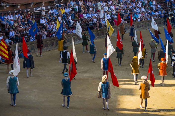 Hold The Flags, Palio, Siena, Italy
