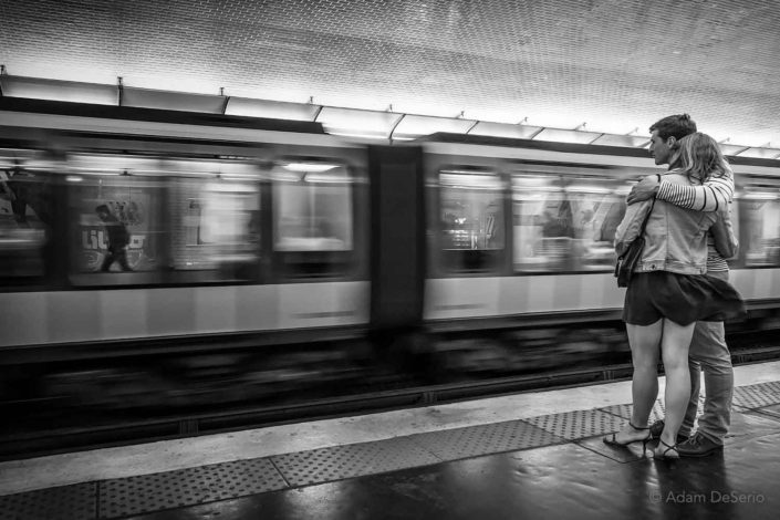 In The Metro, Paris