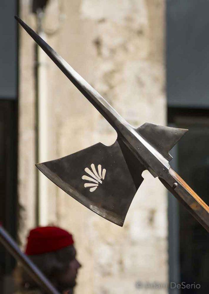Nicchio Spear, Palio, Siena, Italy
