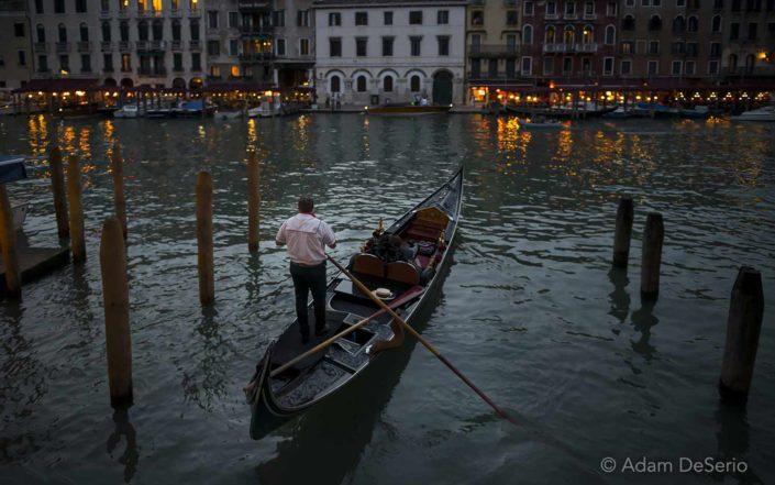 Night Gondola, Venice