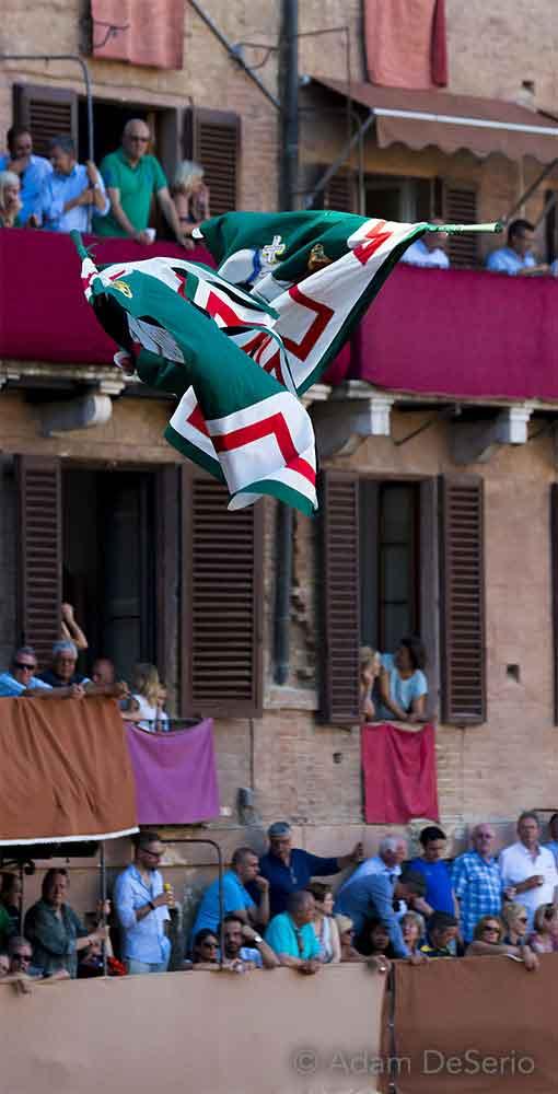 Oca Flags, Palio, Siena, Italy