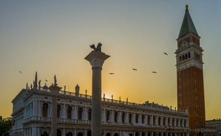 San Marco Square Sunset, Venice