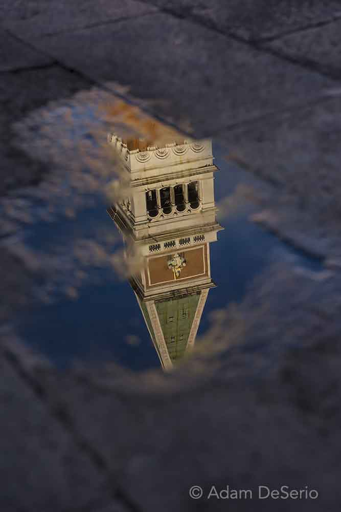 San Marco Tower Reflection