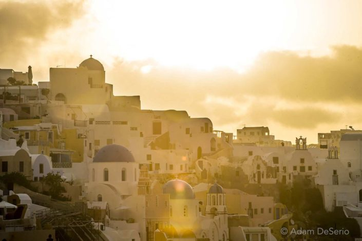 Santorini Light