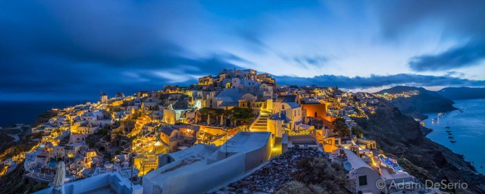 Santorini Splendor Dawn