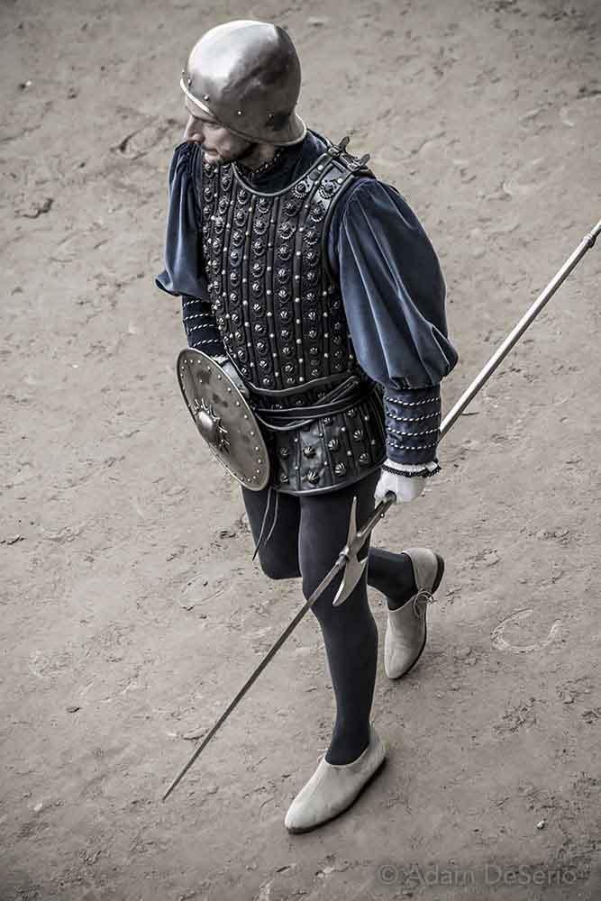 Spear, Palio, Siena, Italy
