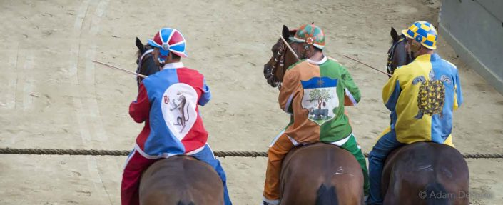 The Wait, Palio, Siena, Italy