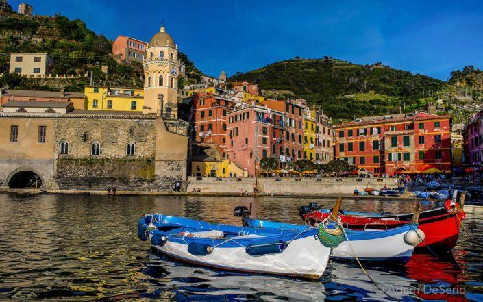 Boats of Vernazza, Cinque Terre, Italy