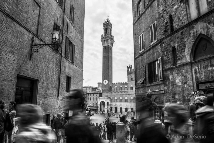 Busy Street Siena