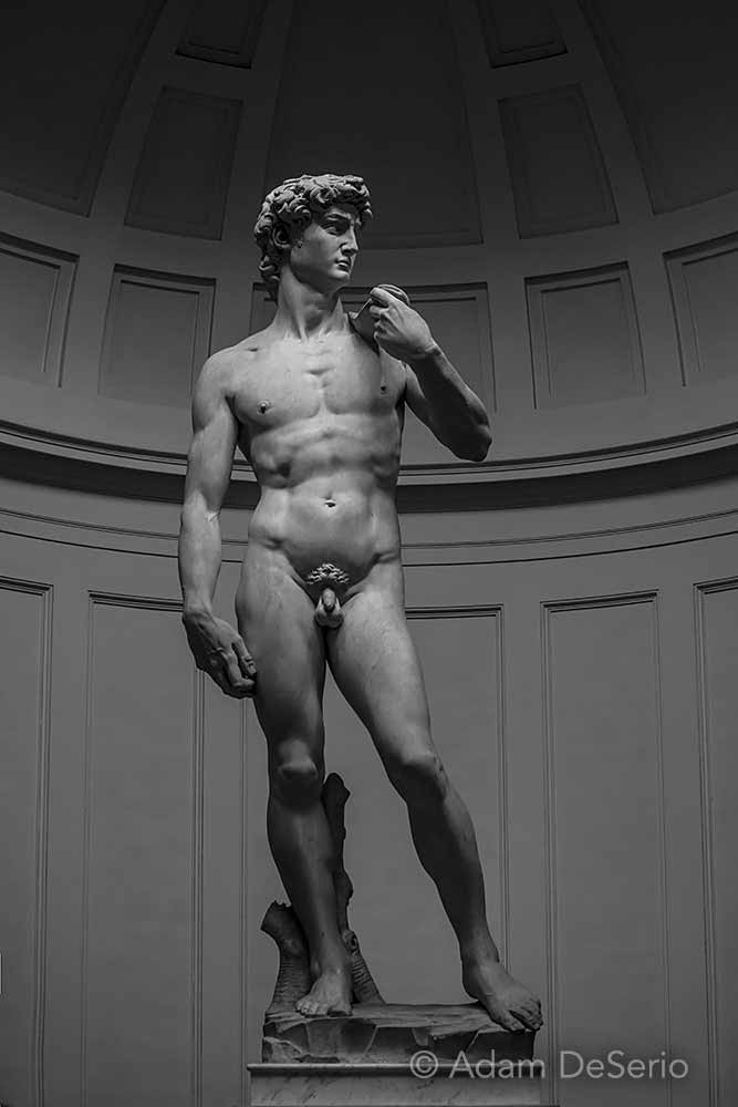 David by Micheal Angelo, Florence, Italy