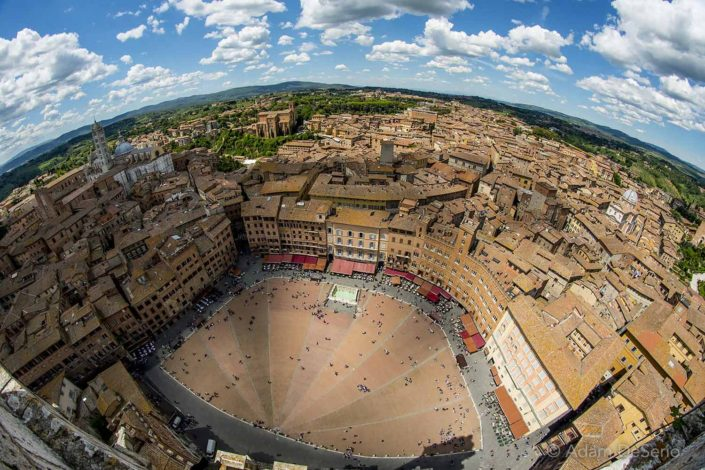 From The Tower, Siena, Italy