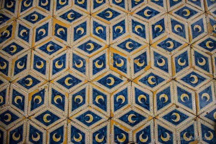 Inside Siena Duomo Moon Floor, Italy