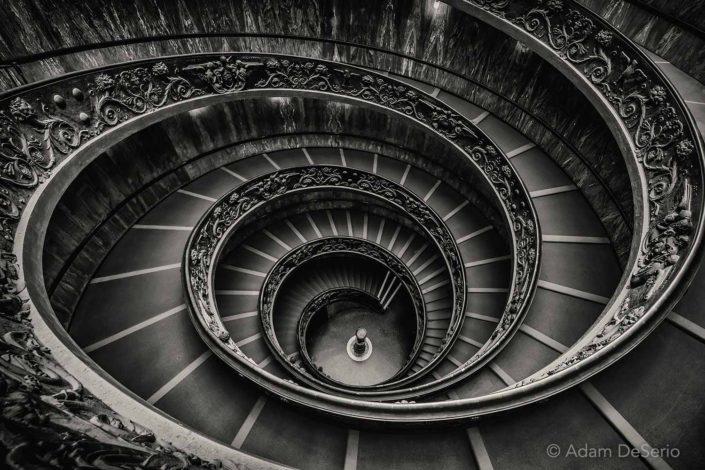 Kaleidoscope, Vatican Stair case, Italy
