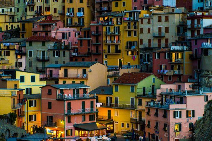 Color Palette, Cinque Terre, Italy