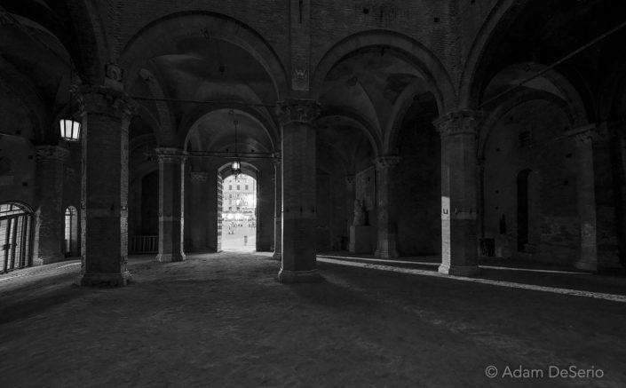 Night In Siena, Italy
