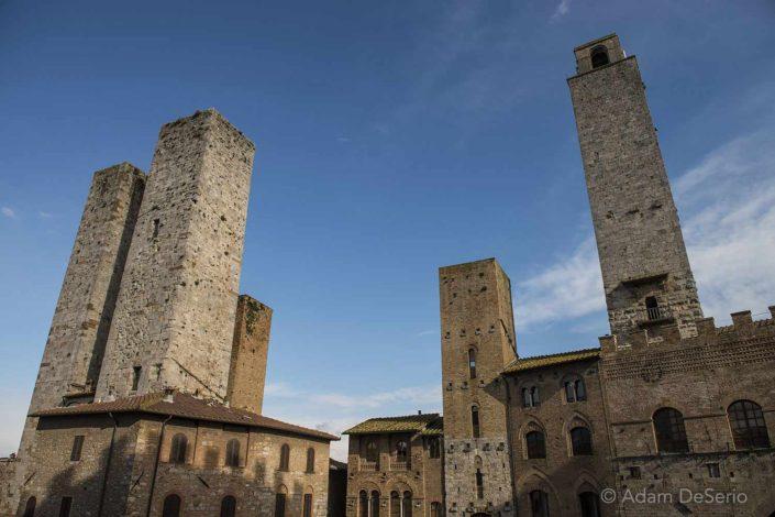 San Gimignano Towers, Tuscany