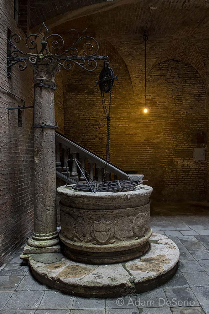 Siena Fountain, Italy