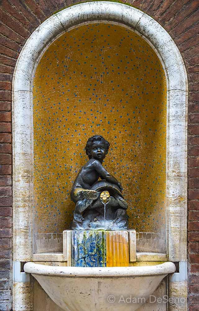 Siena Turtle Fountain, Italy