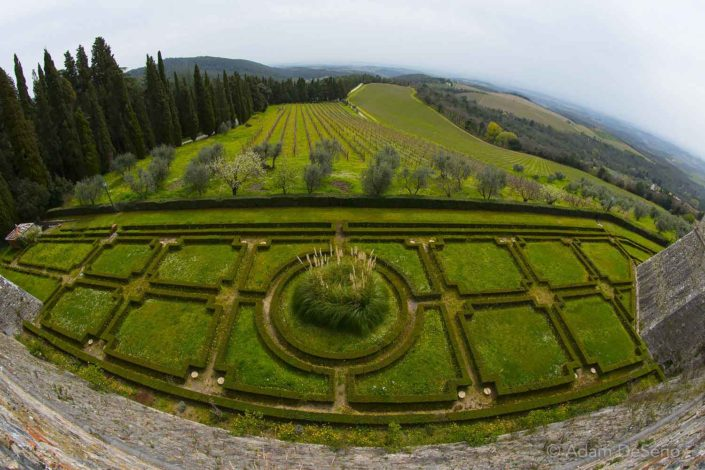 The Gardens In Chianti, Tuscany