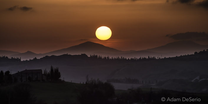 The Setting Tuscan Sun