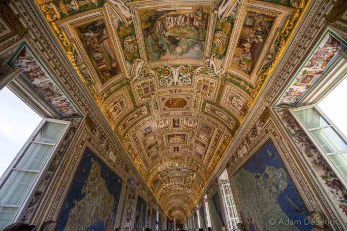 The Vatican Paintings, Vatican, Italy