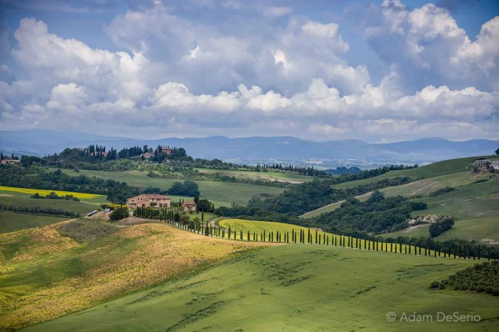 Tuscany Clouds