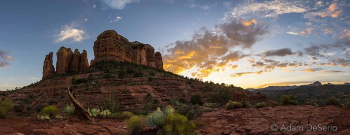 Behind Cathedral Rock, Sedona, Arizona