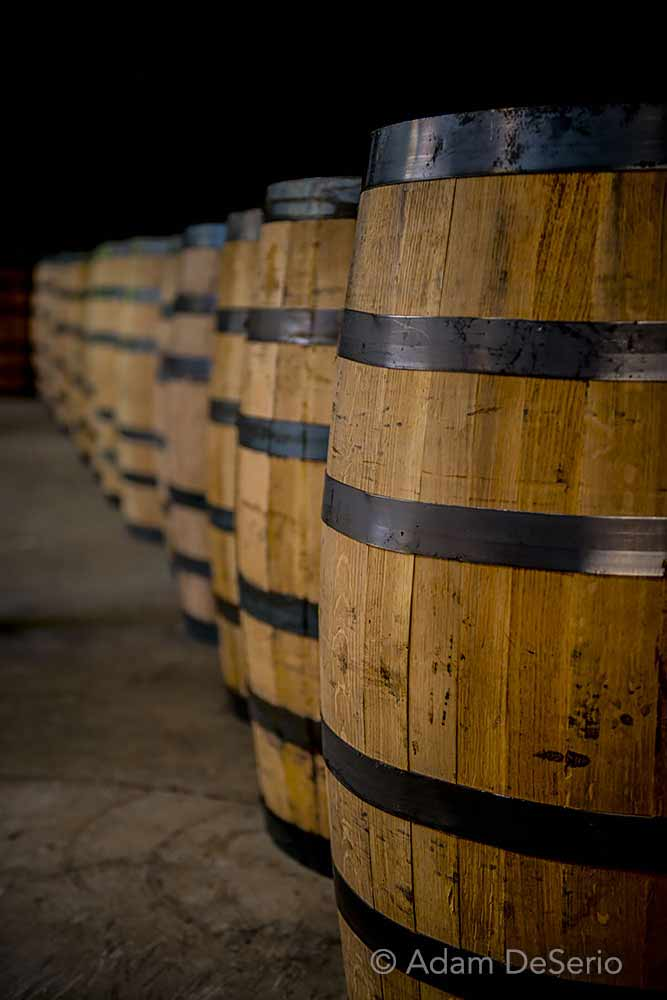 Bourbon Barrels, Kentucky