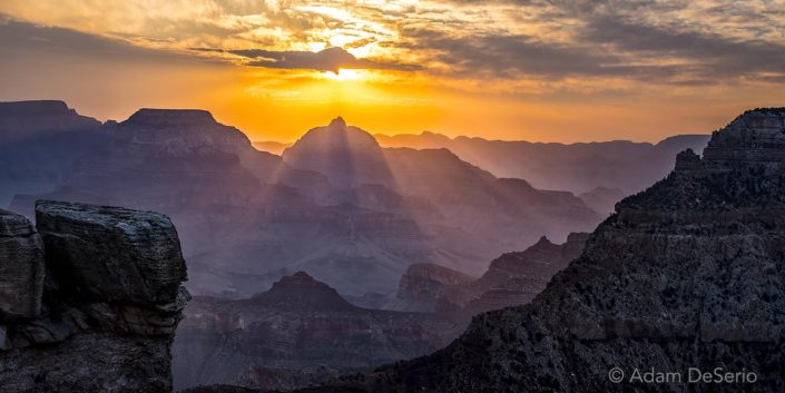 Canyon Light, Grand Canyon, Arizona