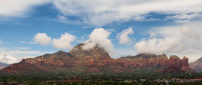 Coffee Pot Pano, Sedona, Arizona