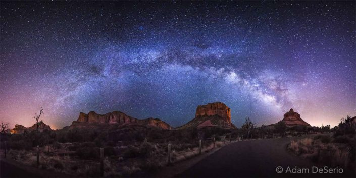 Desert Galaxy, Sedona, Arizona