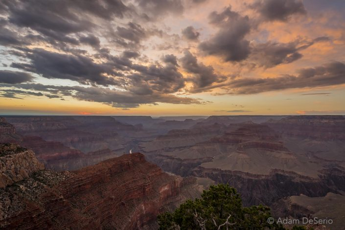 Hopi Point Sunset, Grand Canyon, Arizona