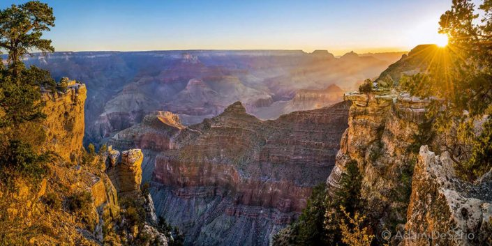 Mather Point Sunrise, Grand Canyon, Arizona