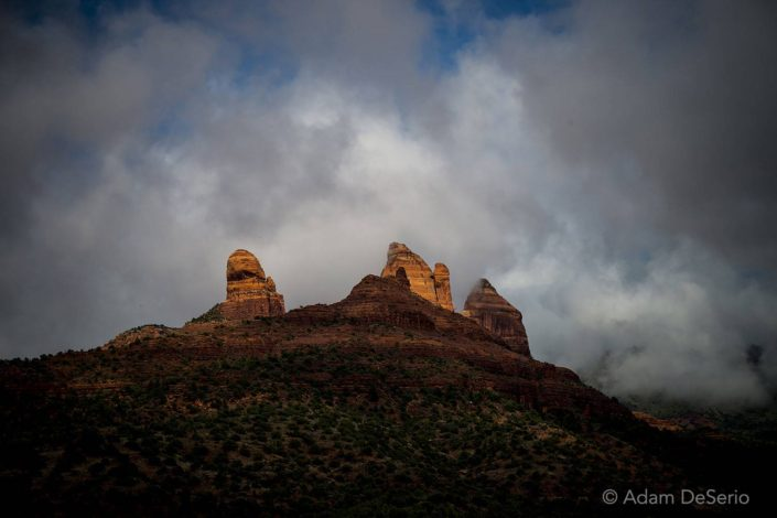 Schnebly Hill Storm, Sedona, Arizona