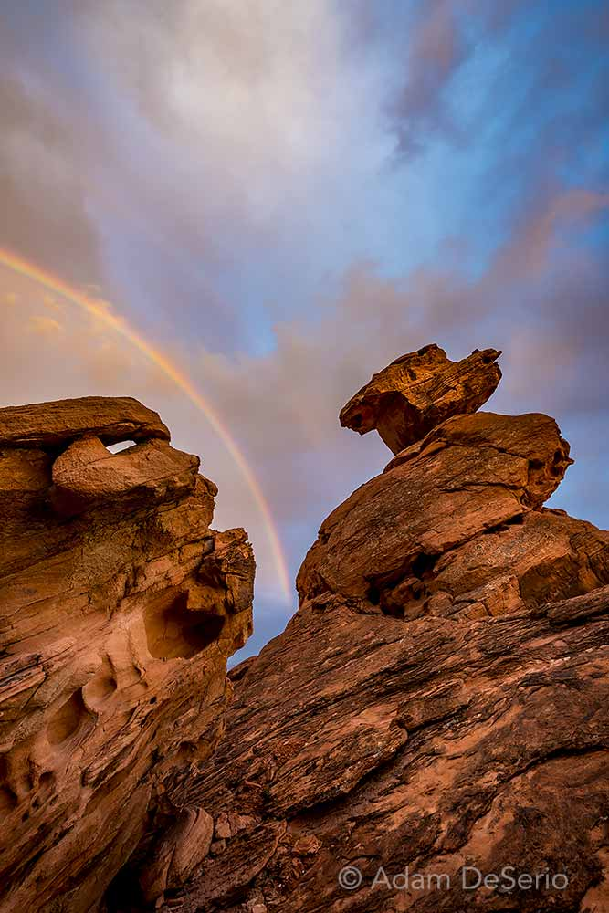 Valley Of Fire Rainbow, Nevada
