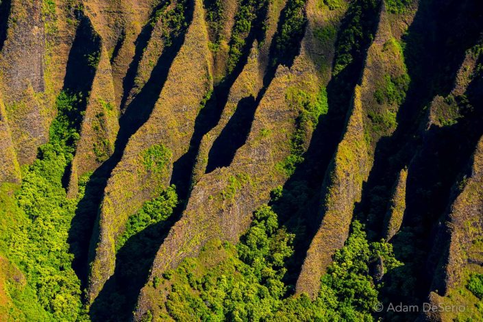 Na Pali Coast Closeup