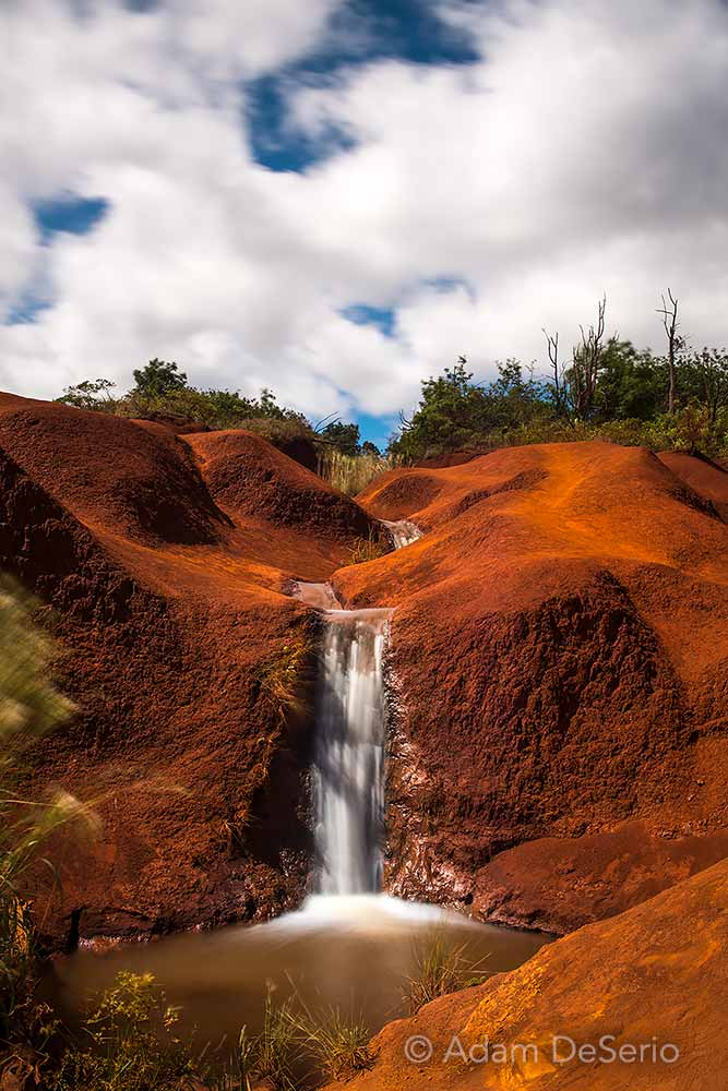 Red Sand Waterfall