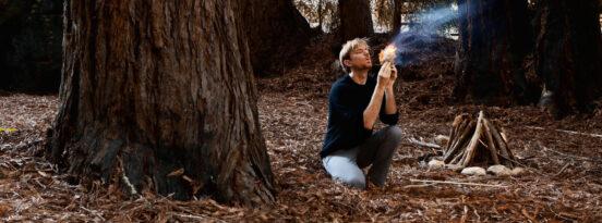 photo of survival man, credit - Tom McElroy