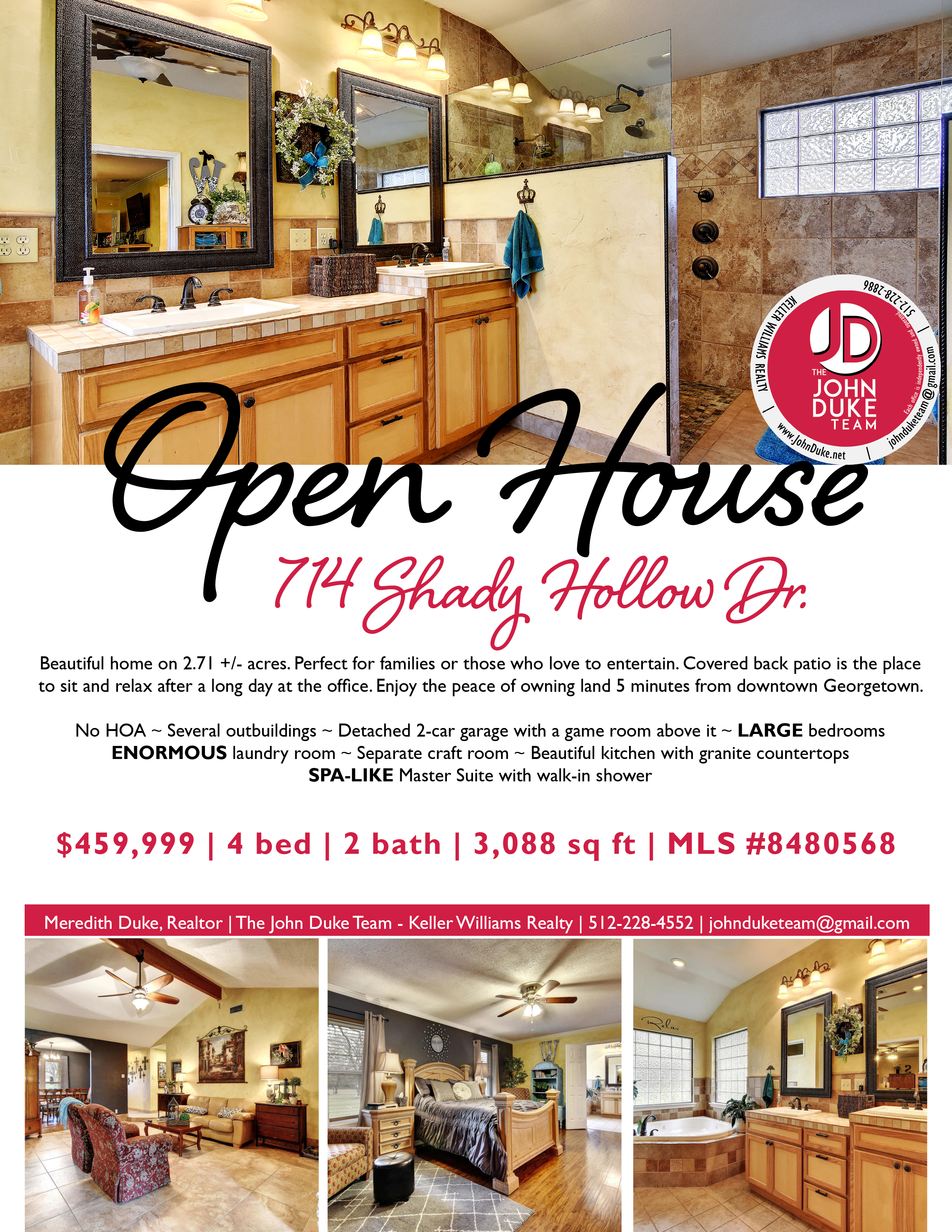 714 Shady Hollow Open House