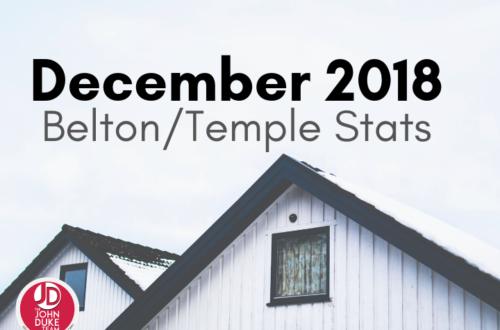 Belton/Temple December 2018 stats