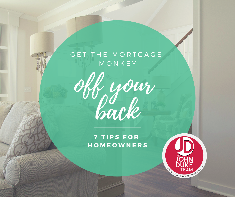 get the mortgage monkey off your back