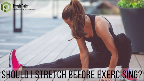 Should I Stretch Before Exercising?