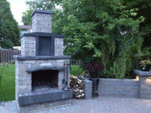 outdoor fireplaces001 300x225 Landscape Services Saskatoon