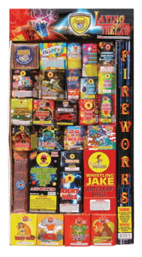 Laying Down The Law - Assortments - Fireworks